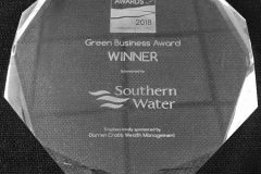 Green Business Winner 2018 Adur & Worthing Chamber