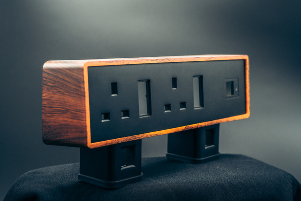 Electronics manufacturing Plug Sockets Wood Effect