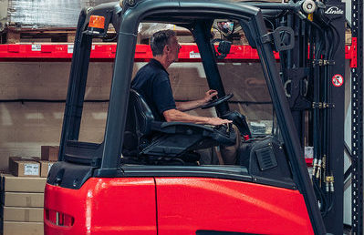 Forklift Driver Warehouse