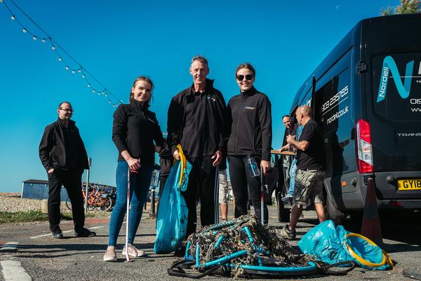 Nordell Team Beach Clean