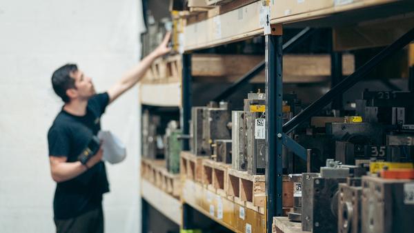 Parts Manufacturing Storage